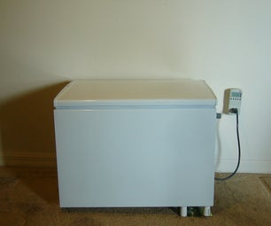 How to Convert a mini fridge to a chest refrigerator