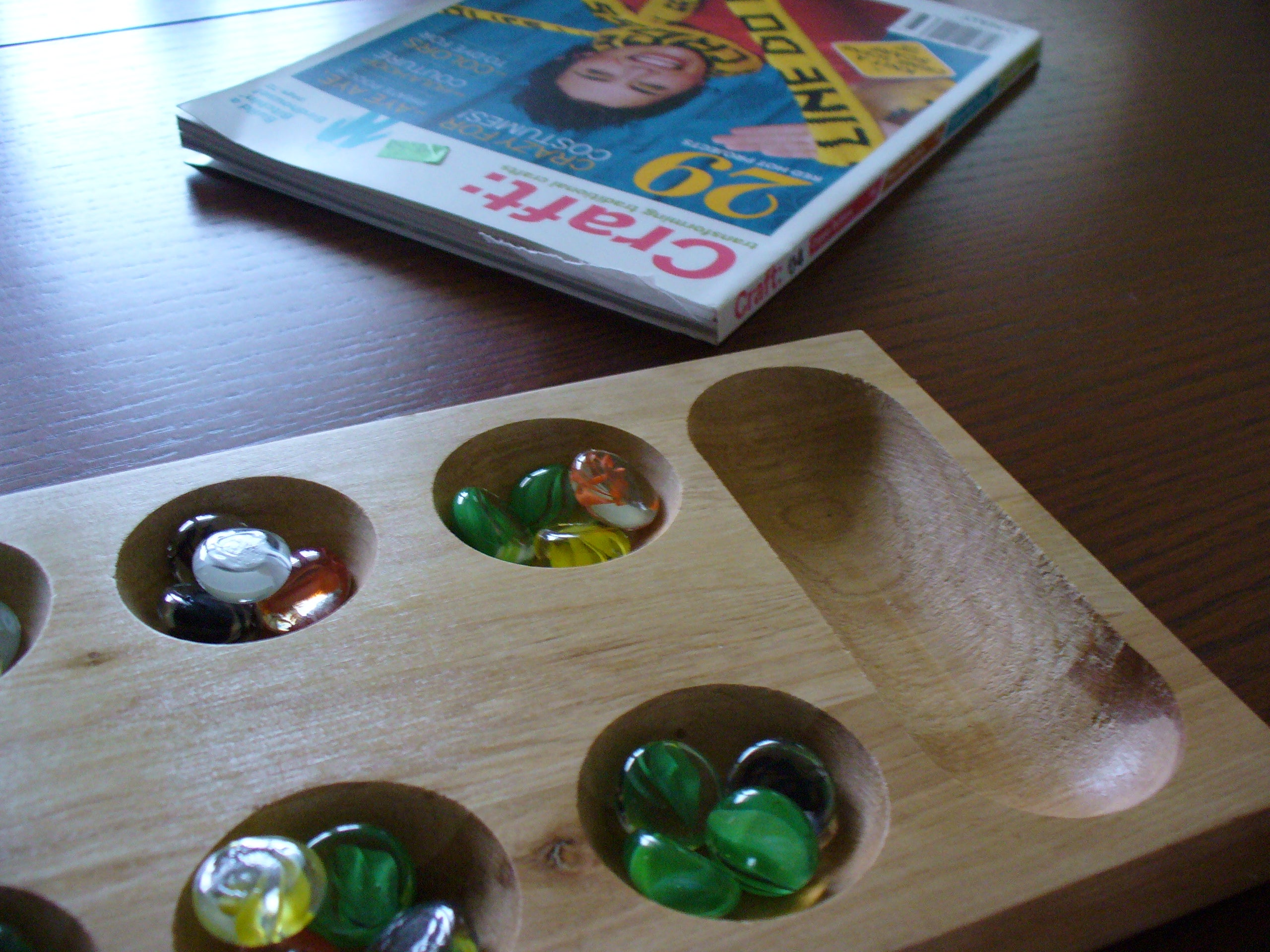 How To Play Mancala 5 Steps With Pictures Instructables