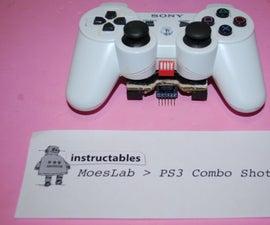 PS3 Combo Shotter Arduino hack