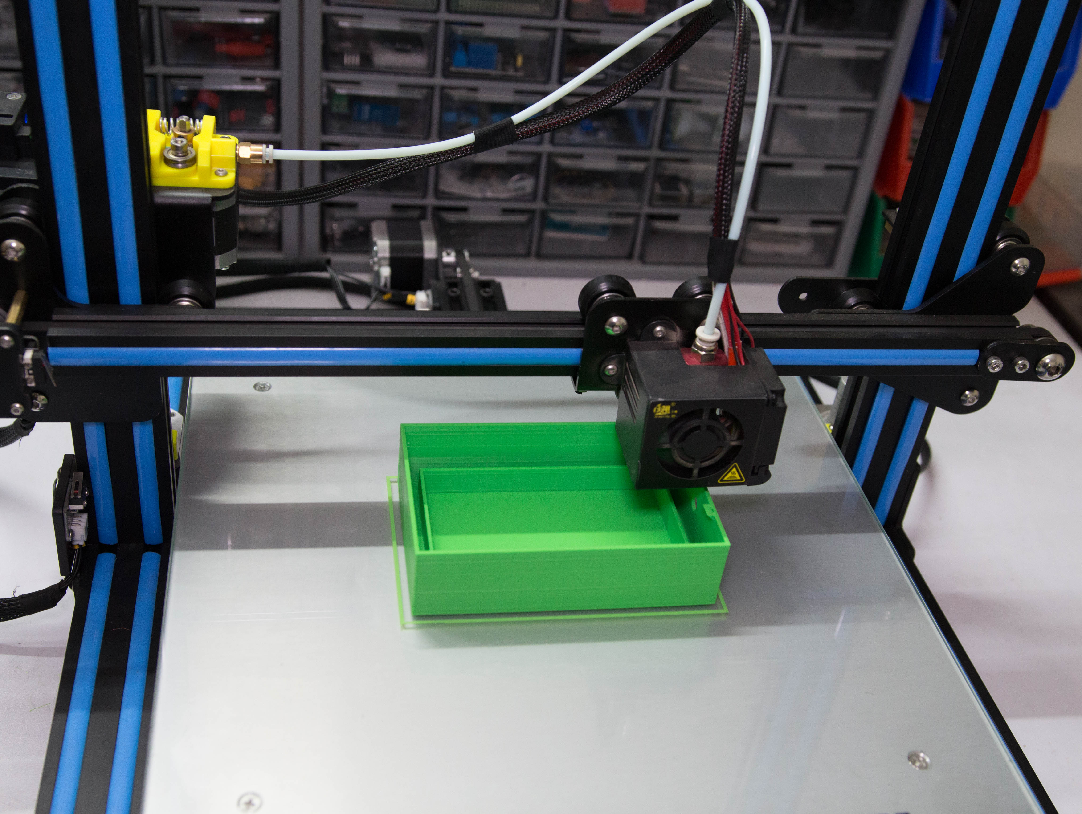 Picture of 3D Printed Enclosure