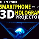 Turn Your Smartphone Into a 3D Hologram Projector! Does It Work?