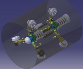 Pipeline Inspection Robot