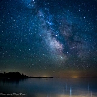 Milky Way over Lake Michigan - 0002.JPG