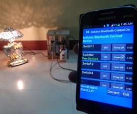 Linkit One BT- Power Box with Timer using Android