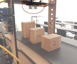 Conveyor counter with an Ultrasonic Sensor (by Jeppe Andersen)
