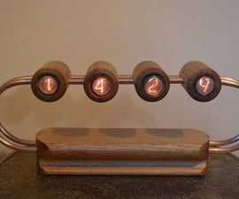 Nixie Tube Clock No.2