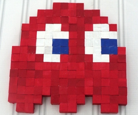 DIY 8 Bit Wall Art