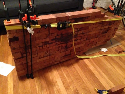 Gluing the Wood