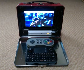 LunchTop: a Raspberry Pi Lunch Box Laptop