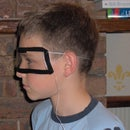 Safety goggles for knex guns