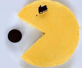 Pacman Lemon Cake