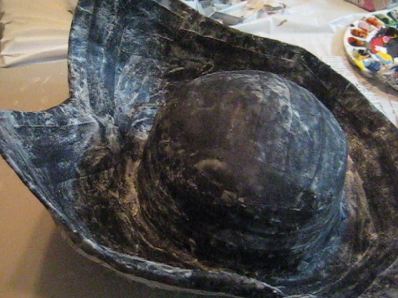 Picture of Apply Material Strips to Hat