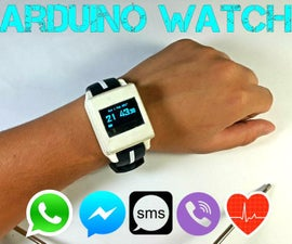 DIY Arduino Watch Sport 2.0