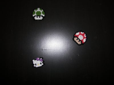Counted Cross-stitch Fridge Magnets