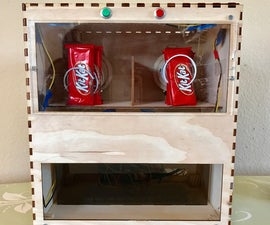 Fun Size Candy Vending Machine