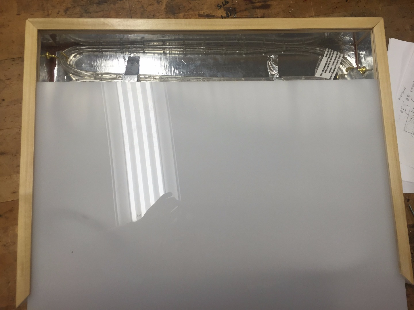 Picture of Attach Top Acrylic Sheet