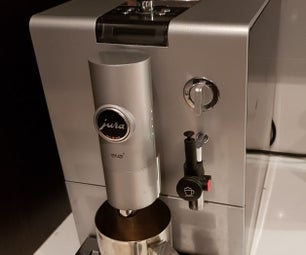 IoT Enabled Coffee Machine