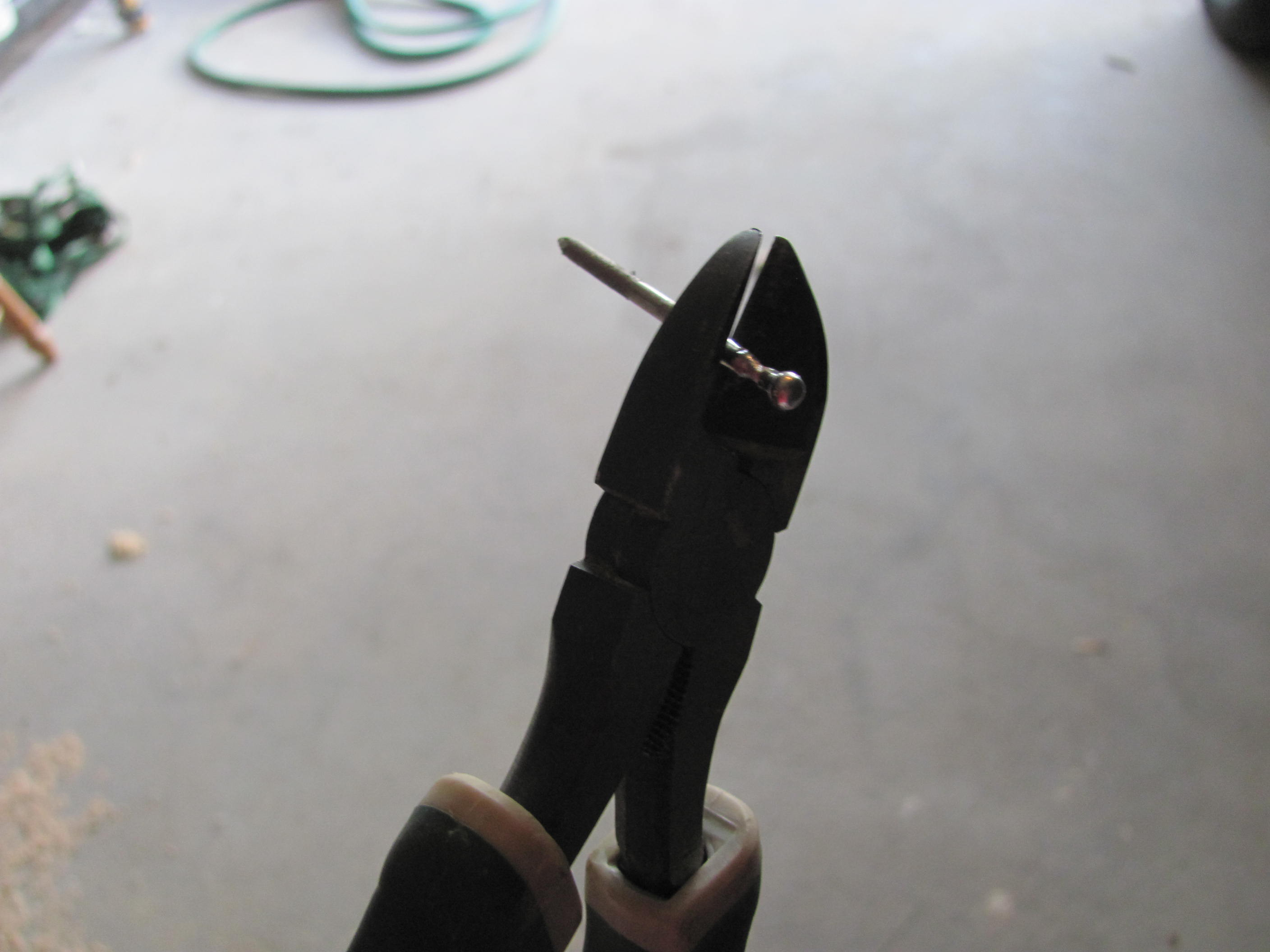 Picture of Cut Pins and Glue