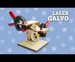Laser Galvo - Arduino Controlled