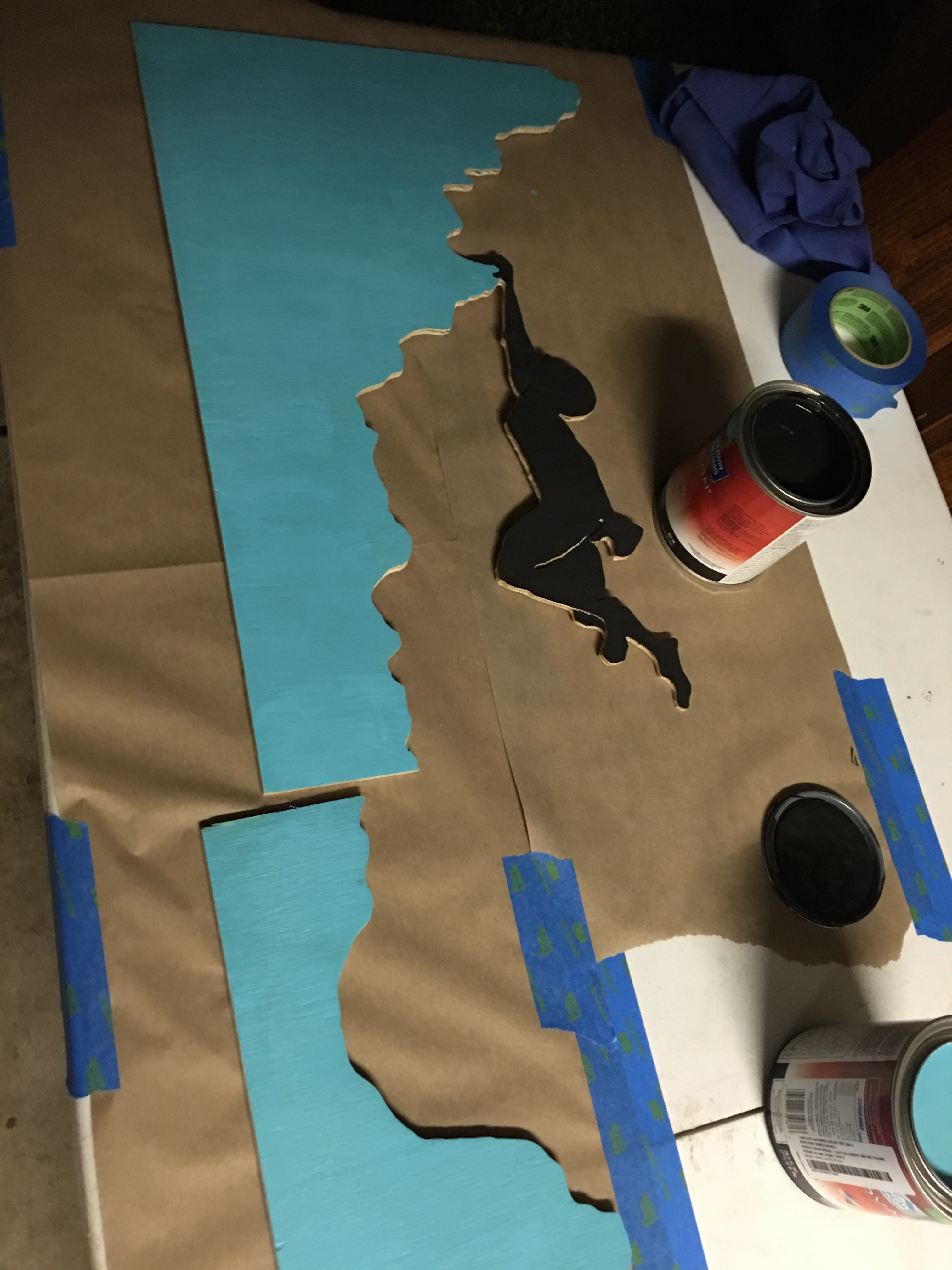 Picture of Painting the Silhouette