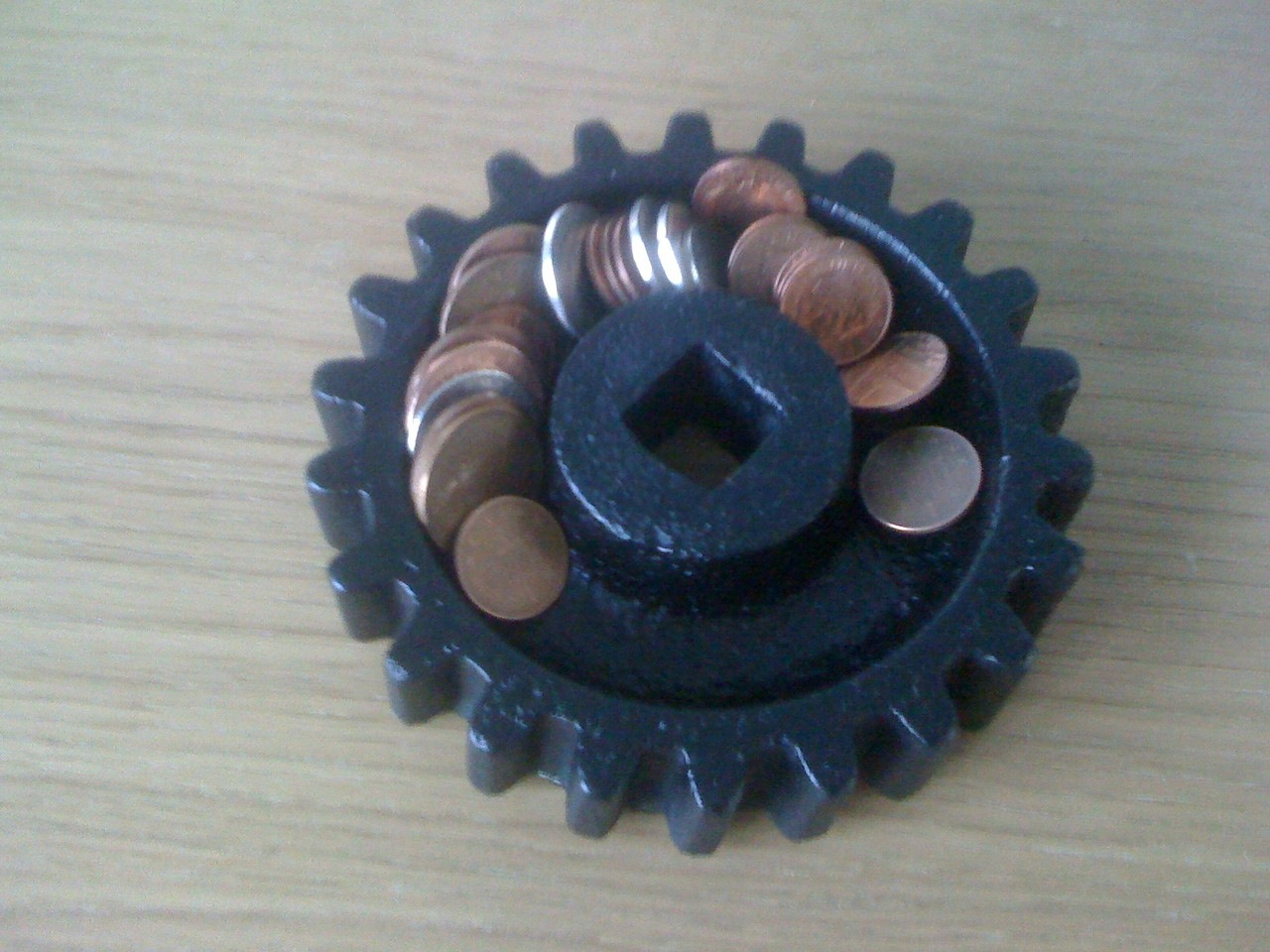 Picture of Cog Ashtray / Coin Tray