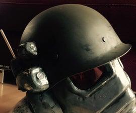 Vakuumforming a NCR Ranger Mask