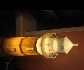 Peggys Cove Lighthouse Lamp