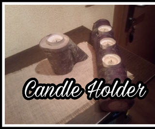 Candle Holder, How to Do