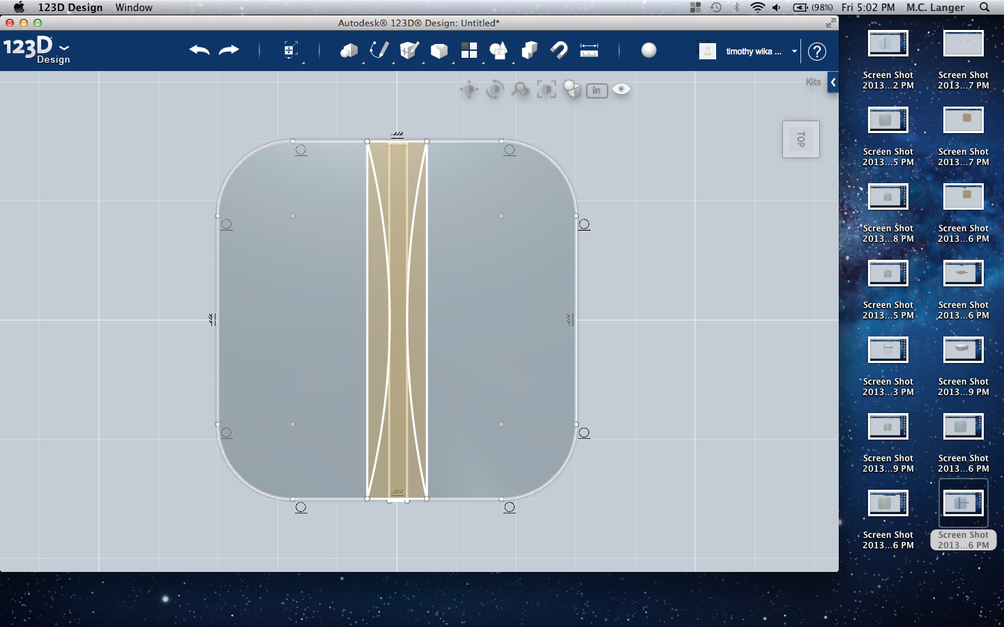 Picture of Using CAD to Model Your Object