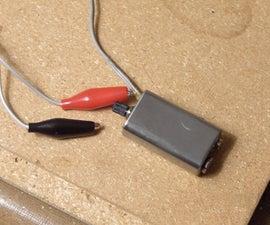 Pocket Protest (a LM386 amp in a 9v battery casing)