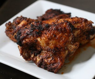 Chili-Spice Rubbed Chicken With Honey-Lime Drizzle