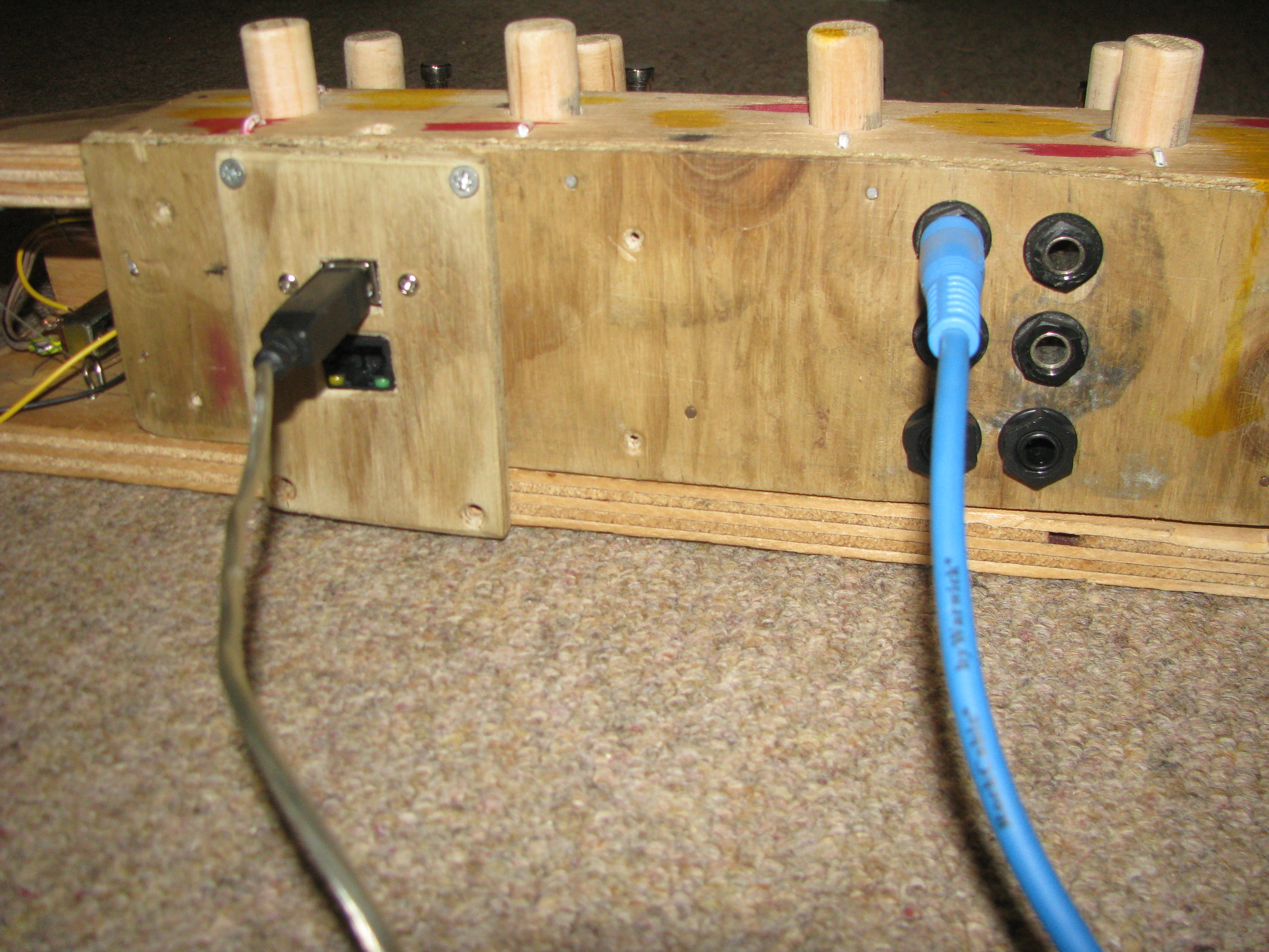Picture of USB Midi Foot Pedal and Drumkit