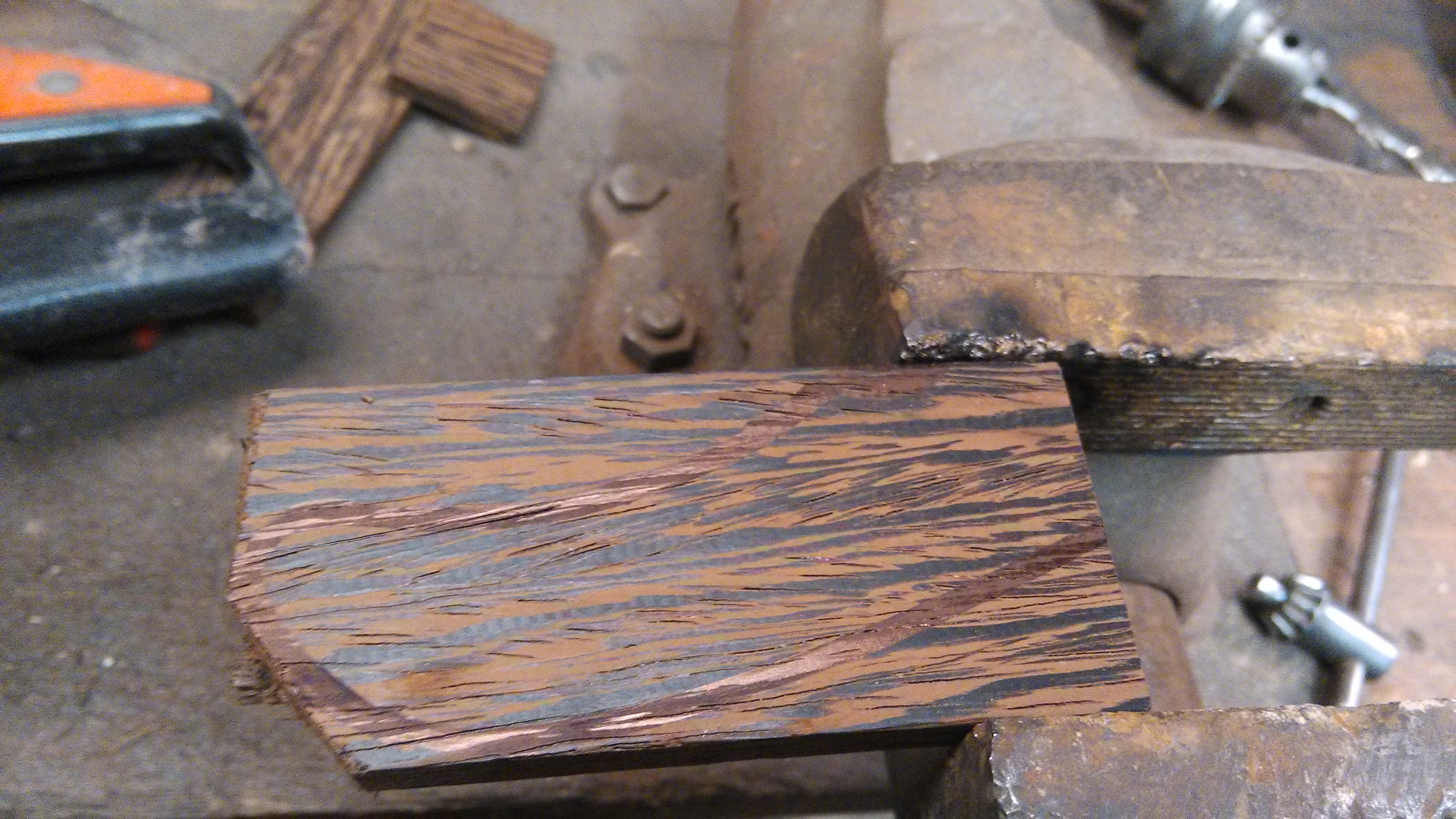Picture of Making Handle : Wooden Part