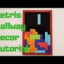 Tetris Hallway Decor Tutorial
