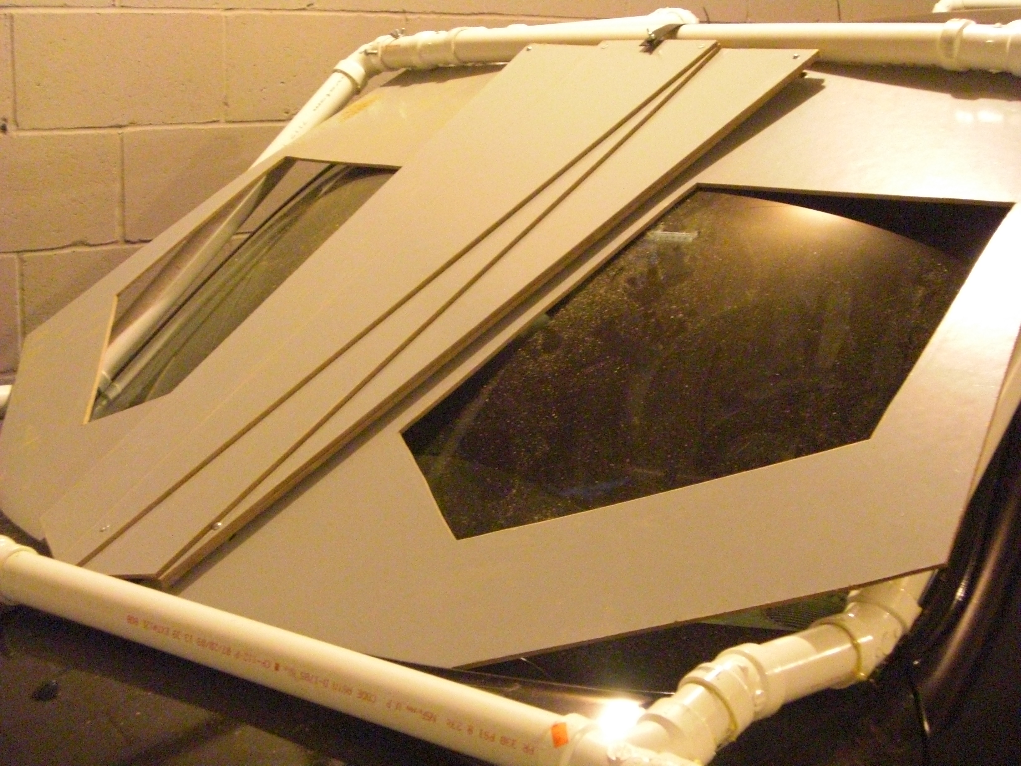 Picture of Front Window Panels