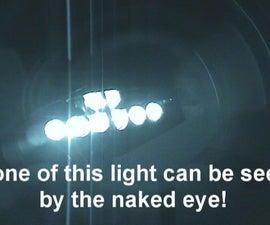 Infrared LED nightvision box