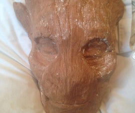 Sculpting A Groot Mask