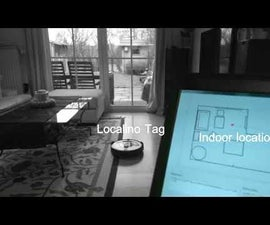 Localino Tracks Roomba IRobot, Maps the Environment and Allows Control.