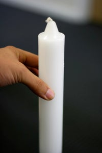 Find Your Candle's Center of Gravity