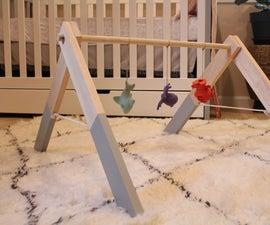木制婴儿健身房