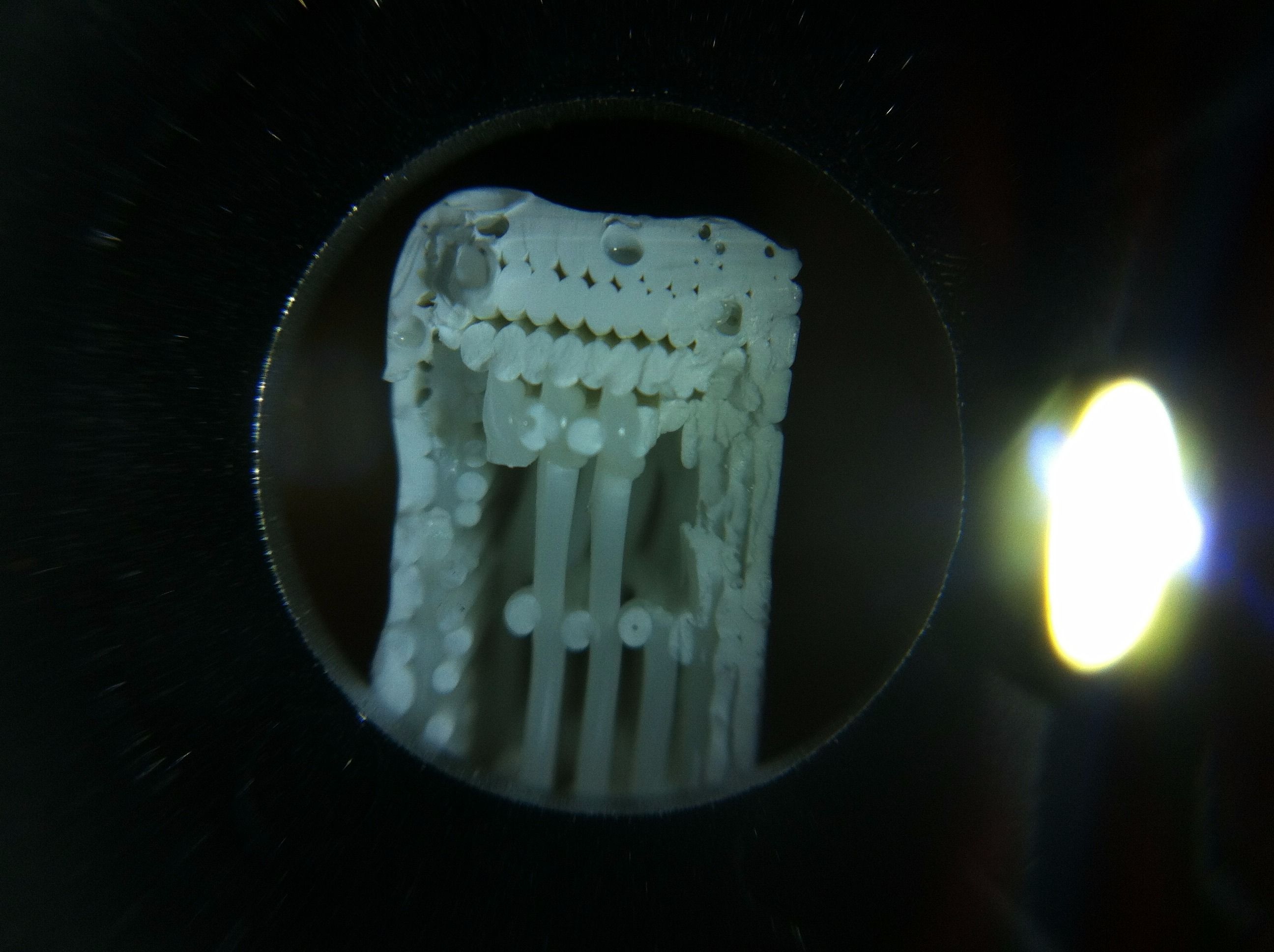 Picture of Mechanical Testing of Acetone Polished ABS Parts