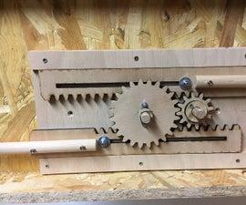 Wooden Locking Mechanism