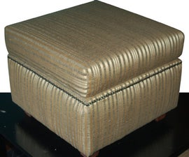 How to Make a Basic Upholstered Ottoman