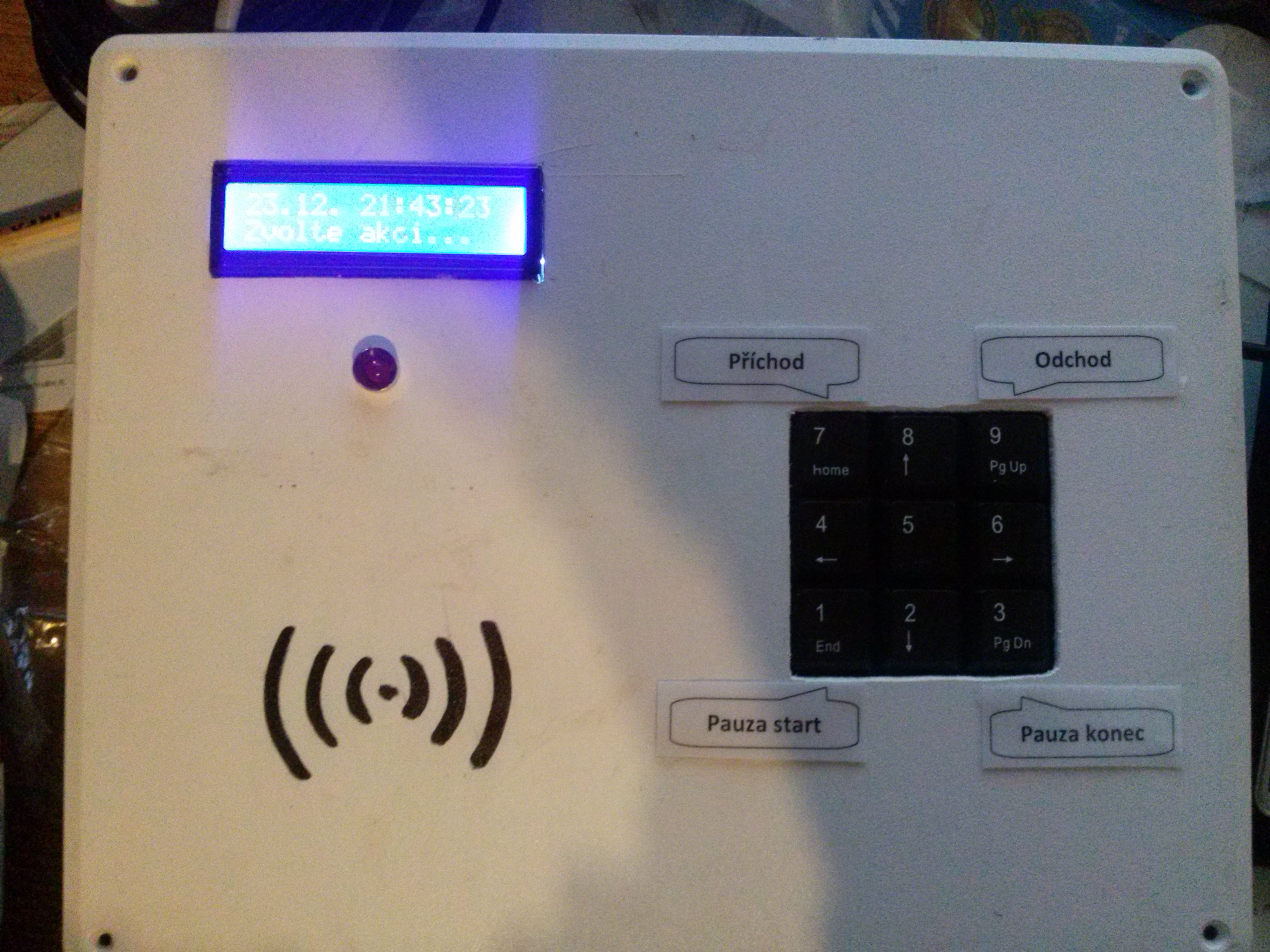 Attendance System Using Raspberry Pi and NFC Tag Reader: 4 Steps