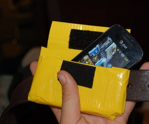 How to Make a Duct Tape Phone Case