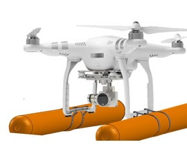 Floating Outrigging For a Drone