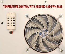 Temperature control with Arduino and PWM fans