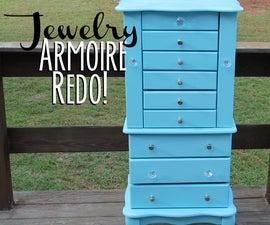 Jewelry Armoire Redo
