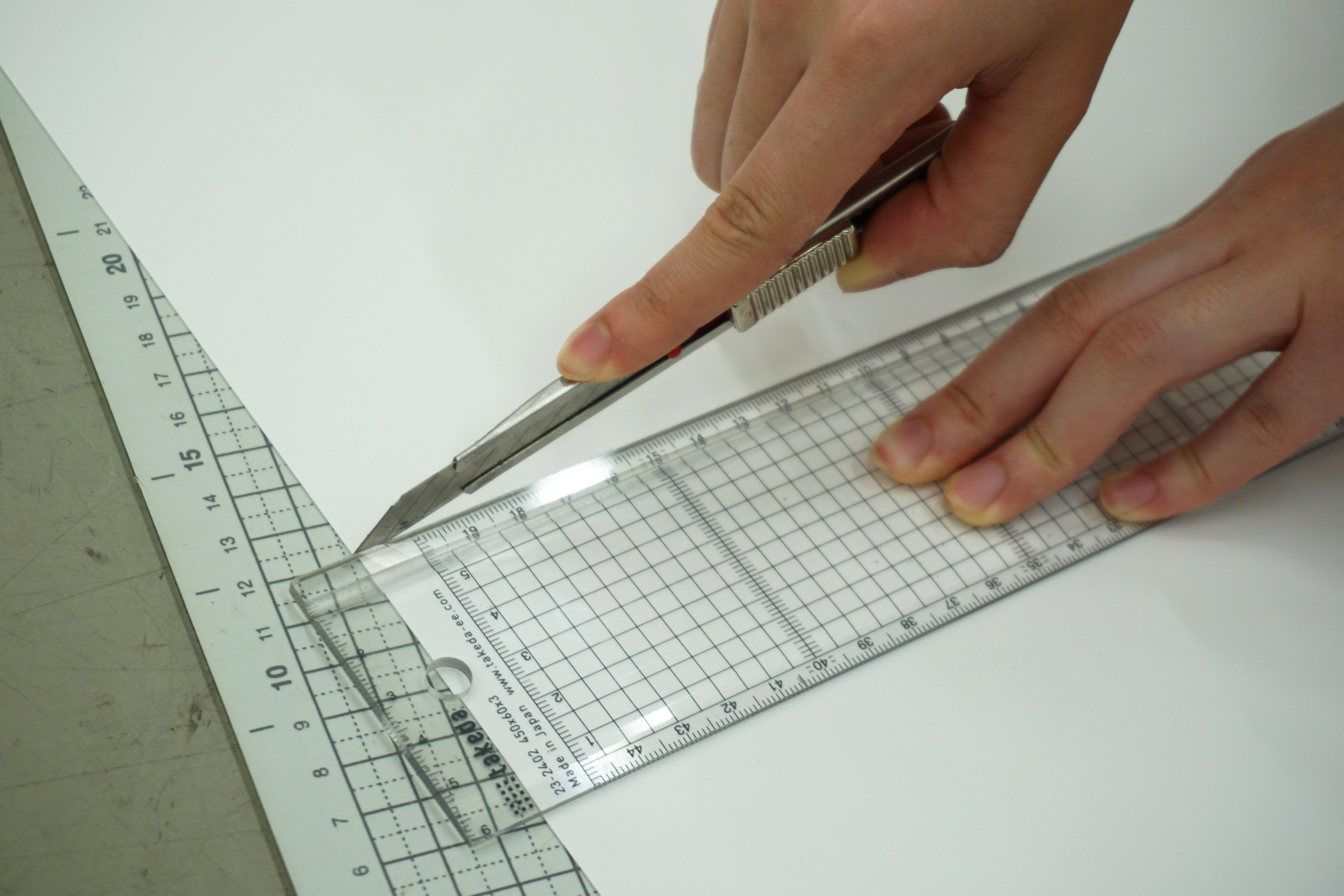 Picture of Cut White Paper