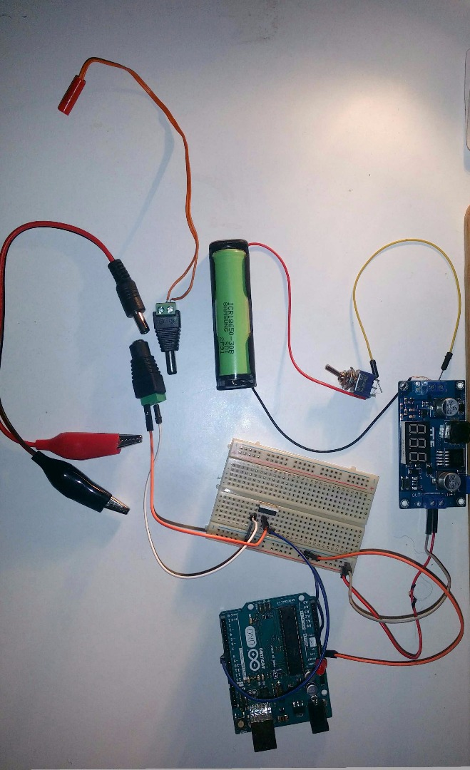 Picture of Assembling the Circuit for Pyro